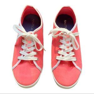 Nautica Canvas Shoes size 6